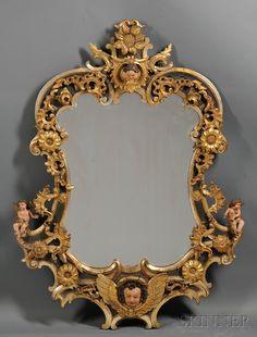 A rococo mirror, which I own.