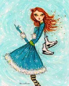 Bella Pilar-Patines de hielo
