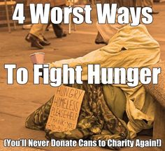 Are we wasting money attempting to feed the needy? See 4 things we're doing wrong in the war on hunger. #GoOrange #NoKidHungry