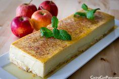 Flan de manzana - Receta paso a paso. Recipe is not in English but I WILL translate it. Looks fabulous!