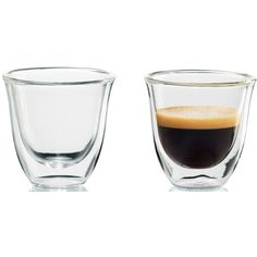 Espresso Cup by DeLonghi $16 for set of two BUY NOW  Sleek, simple, and sophisticated, these insulated double-walled mini tumblers from DeLonghi are built to keep drinks piping hot or icy cold. Do we need to mention that these can double as stylish shot glasses