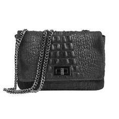 Ital Leather Bag Crocodile Embossing Chain Strap Bag Suede Handbag Clutch: Date: It Now… Crocodile, Suede Handbags, Chanel Boy Bag, Leather Bag, Satchel, Hobo Bag, Shoulder Bag, Ebay, Chain