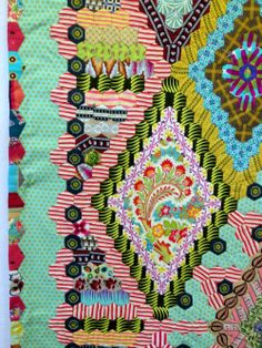 Ooooh, the possibilities ... @ Bloom Mary Tolman Quilt by Bridgette Giblin