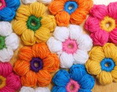 Materials: *G hook *Worsted weight Yarn in 2 colors I used Cascade 220 wool solids *yarn needle *Scissors Finished flower has a diameter of about 2″ ….you've got the power to make…