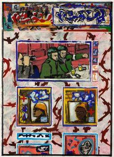 "Saatchi Art Artist Ahmed Borai; Painting, ""Warehouse world wide.borderchess.run"" #art"