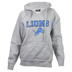 Women's Detroit Lions Junk Food Black Boyfriend Fleece Pant ...