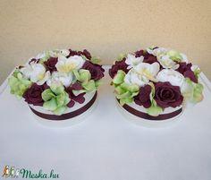 Orchideás őszi virág doboz (Decoflor) - Meska.hu Desserts, Tailgate Desserts, Deserts, Postres, Dessert, Plated Desserts