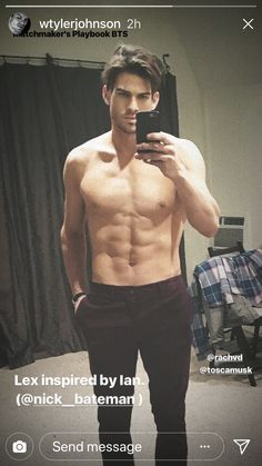 Tyler Johnson, Nick Bateman, Types Of Guys, Fit Men, Young And The Restless, Romantic Movies, Handsome Man, Mens Fitness