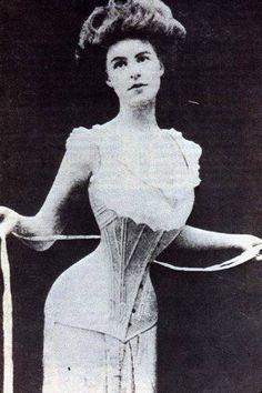 women in corsets