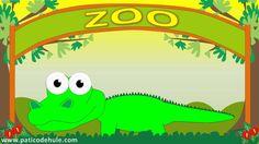 Animales del Zoo para niños: El cocodrilo - Sonido de Animales para niños - El Cocodrilo - YouTube
