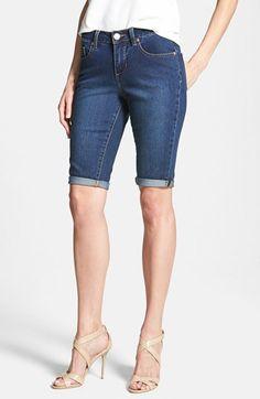 Jag Jeans 'Robbie' Stretch Denim Shorts (Dark Rainwash) | Nordstrom
