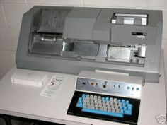 key punch machine | Random Images from album :: IBM 129 KEYPUNCH,KEY PUNCH MACHINE - I operated this model.  In the bin on the left side where the cards would stack, there is a button that controls how high the stack gets.  When the stack reaches the button, the machine locks and won't work until you remove the cards.  A practical joke was to tape down a new operator's stack button and then tell them they broke the machine!  LOL