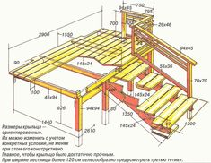 how to build a porch with stairs – Home Decoration Deck Construction, Construction Drawings, Stair Stringer Calculator, Stairs Stringer, Porch Stairs, Garage Tool Storage, Deck Steps, Wooden Cottage, Building A Porch