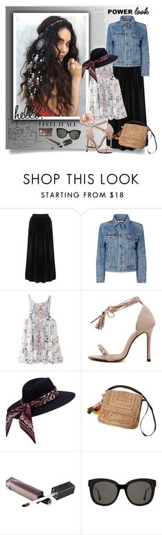 """Vintage Print"" by sweetsely ❤ liked on Polyvore featuring Helmut Lang, ále by Alessandra, Gentle Monster, Viseart, vintage and polyvoreeditorial"