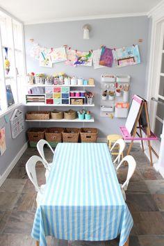 Karuna & Ora's Art Studio on the Sun Porch