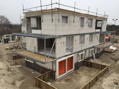 Voortgang bouw Koningskaars te Schiermonnikoog - 1 maart 2016