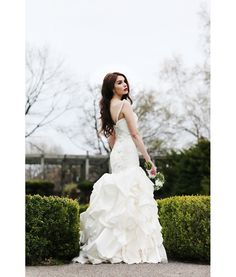 Creative wedding in High Park, Toronto.  Featuring wedding gown Mabel by Paraezo Couture