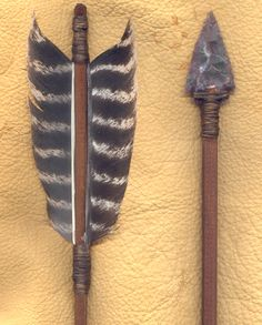feather+flint+arrows | Lakota arrows are available in a variety of fletchings, lengths ...