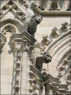 Notre Dame Cathedral : Gargoyles