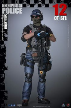Figurines D'action, Tactical Holster, Tactical Gloves, Statues, Uk Arms, Special Forces Gear, Tactical Operator, London Police, Military Action Figures