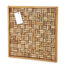*Make this with all of our wine corks.* Take a look at this Maple Stain Large Cork Board Kit by Wine Enthusiast on today! Large Cork Board, Diy Cork Board, Cork Bulletin Boards, Wine Cork Art, Wine Cork Crafts, Cork Board Wine Corks, Maple Stain, Wine Cork Projects, Craft Projects