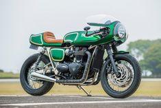 The Mongrel: A Rickman Triumph T120 cafe racer