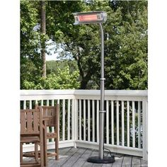 Fire Sense Stainless Steel Infrared Patio Heater