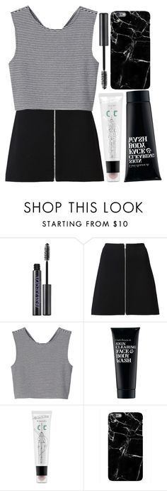 """""""Untitled #102"""" by blue-skies-mmiv ❤ liked on Polyvore featuring Urban Decay, Witchery, Monki, Clark's Botanicals, too cool for school, tumblr, grunge, CasualChic, Minimalist and Fall2016"""