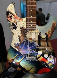 Pink Floyd - Wall Guitar