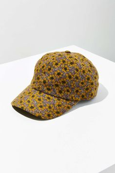 17f1019146268 Floral Flannel Baseball Hat
