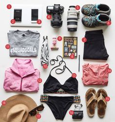 Packing 101 for a Costa Rican adventure is on the blog today!! Everything you could possibly need for a perfect getaway! Brought to you by Pepto-Bismol #PinkRelief #ad