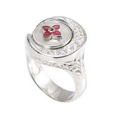 Authentic Kameleon Jewelry  Ring - KR037 - Side Scoop CZ Ring - Jewelpops Size 5 #KameleonJewelry