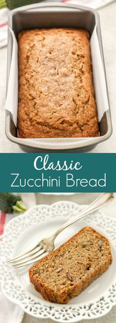 Perfect pumpkin bread recipe fall sweets pumpkin pinterest best comfort foods this classic zucchin food drink healthy snacks nutrition cocktail recipes this classic zucchini bread is perfectly sweet moist and forumfinder Choice Image