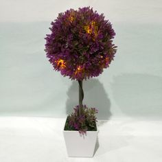Artificial topiary trees in planter, wide range of artificial topiaries for choice, different colors are available