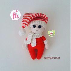 "44 Beğenme, 1 Yorum - Instagram'da I love amigurumi❣Bursa (@ozlems.crochet): ""Sevgili #tinyminidesign tasarimi olan bu bebisten ben de yapmaliydim👶🍼 Pattern➡…"""