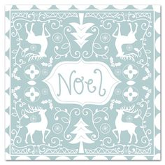 """East Urban Home 'Noel' by Advocate Art Graphic Art Size: 10"""" H x 10"""" W"""