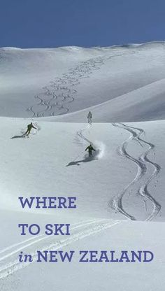 The NZ ski season starts next month! If you're planning to go skiing in New Zealand, here are the answers to a few questions you might have. Working Holidays, Ski Holidays, Best Places To Travel, Places To See, Never Summer, Go Skiing, Ski Season, New Zealand Travel, Free Things To Do