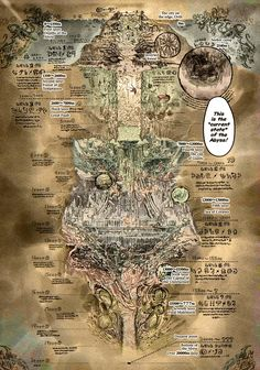 Image result for made in abyss map