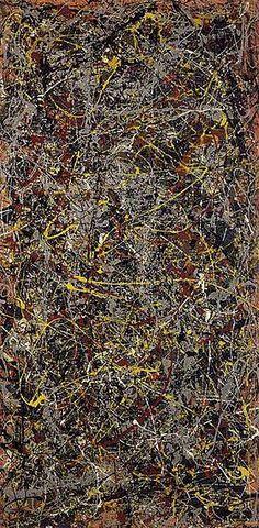 No 5 by Jackson Pollock- 1948