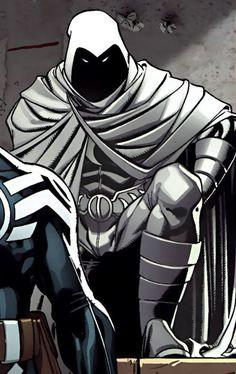 Moon Knight Mr Knight, Marvel Moon Knight, Misty Knight, Comic Book Characters, Comic Character, Comic Books Art, Comic Art, Marvel E Dc, Marvel Comics Art