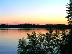 This is one of our favorite lakes in Wisconsin. Hint: it's in Boulder Junction. See which lake it is here...