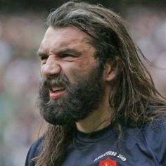 Chabal. More rugby beards on my Rugby board.