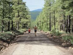 Endless mountain roads and trails at the Run SMART Retreat.