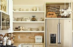 http://www.goodhousekeeping.com/home/decorating-ideas/tips/a26943/kitchen-open-shelving-pros/