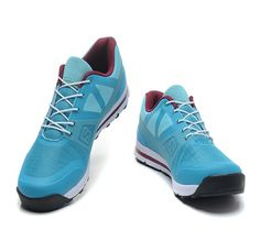 RSS Product Feed :: Chaussures Salomon Femme Outban Low Cyan Cramoisi Blanc