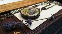 Soldered Collage Pendant. by Aprilands on Etsy