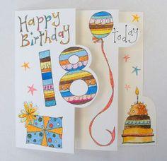 18 Yrs Birthday Greetings