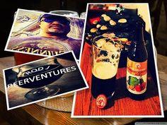 Rod J BeerVentures: Beer Review: New Belgium Cherry Almond Ale