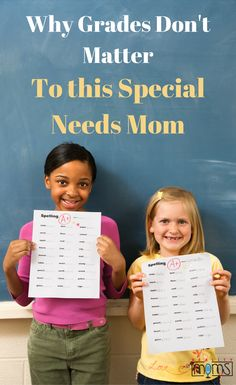 It's easy to worry about report cards as a special needs mom. When you're parenting a child with a learning disability, dealing school, academics, grades, and IEPs become the norm. Here's why this special needs mom doesn't worry about grades: Find inspira Co Teaching, Teaching Resources, Teaching Tools, Inclusive Education, Inclusion Classroom, Special Needs Mom, Co Parenting, Good Grades, Learning Disabilities
