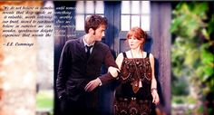 She kind of saved her doctor and the doctoe saved his donna